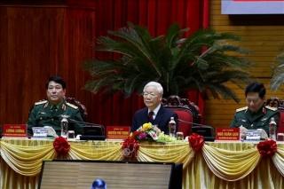 Chùm ảnh: Tổng Bí thư, Chủ tịch nước chủ trì Hội nghị Quân chính toàn quân