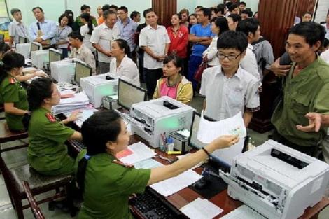 Quy trình cấp thẻ căn cước công dân theo mẫu mới