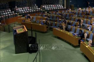 Đại hội đồng LHQ thông qua Nghị quyết về chống dịch bệnh do Việt Nam đề xuất