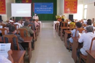 Tân Biên: Tập huấn phòng, chống tác hại của thuốc lá