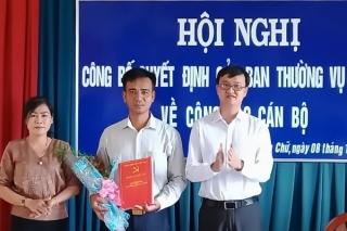 Bến Cầu: Điều động, bổ nhiệm Bí thư đảng uỷ xã Long Chữ và Long Phước