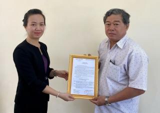 Huyện Châu Thành: Công bố các quyết định về công tác cán bộ