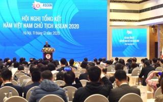 Thủ tướng Nguyễn Xuân Phúc dự Hội nghị tổng kết Năm Việt Nam ASEAN 2020