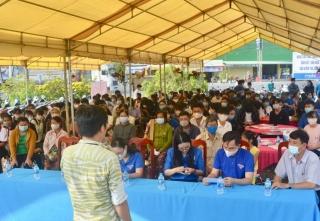 Hòa Thành tổ chức Ngày Hội tư vấn việc làm cho thanh niên