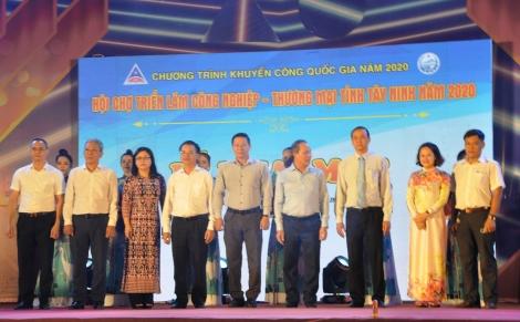 Khai mạc Hội chợ Triển lãm Công nghiệp–Thương mại Tây Ninh năm 2020