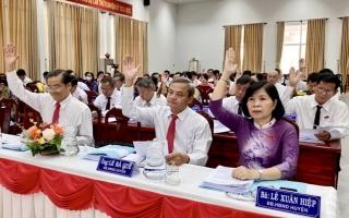 HĐND Châu Thành khai mạc kỳ họp cuối năm 2020