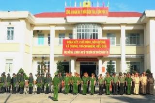 Công an Tân Châu mở đợt cao điểm tấn công trấn áp tội phạm