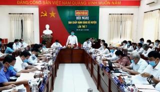 Ban Chấp hành Đảng bộ huyện Bến Cầu hội nghị lần thứ 7
