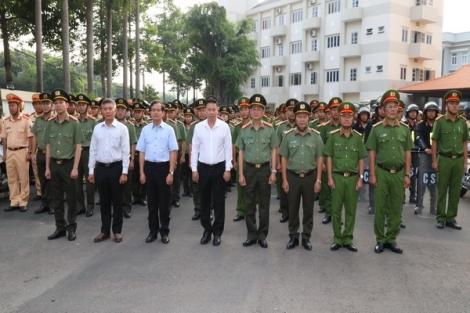 Công an tỉnh: Ra quân đợt cao điểm tấn công trấn áp tội phạm