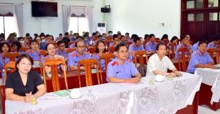 Viện Kiểm sát nhân dân tỉnh: Khai giảng lớp bồi dưỡng chuyên sâu kỹ năng kiểm sát án dân sự