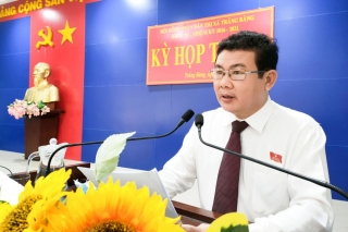 HĐND thị xã Trảng Bàng khai mạc kỳ họp thứ 15
