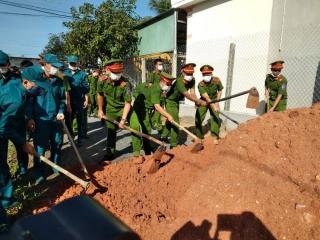 Huyện Bến Cầu ra quân làm công tác dân vận đợt 2 năm 2020
