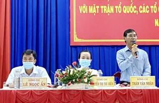 Châu Thành: Đối thoại trực tiếp giữa người đứng đầu cấp ủy, chính quyền với Mặt trận Tổ quốc, tổ chức chính trị - xã hội và Nhân dân