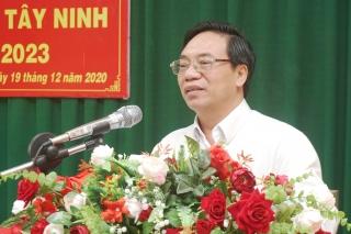 Hội nghị Chi hội Nhà báo Báo Tây Ninh, nhiệm kỳ 2020-2023