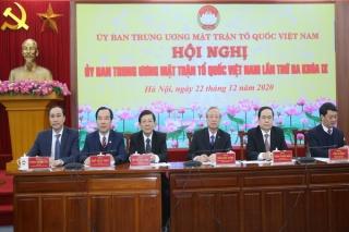 UB.MTTQ Việt Nam tỉnh được tặng cờ nhận Cờ thi đua xuất sắc toàn diện
