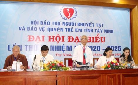 Đại hội Đại biểu Hội Bảo trợ Người Khuyết tật và Bảo vệ quyền trẻ em tỉnh Tây Ninh lần thứ V, nhiệm kỳ 2020-2025 tiến hành phiên họp trù bị