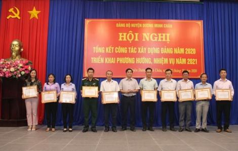 Huyện ủy Dương Minh Châu tổng kết công tác xây dựng Đảng năm 2020