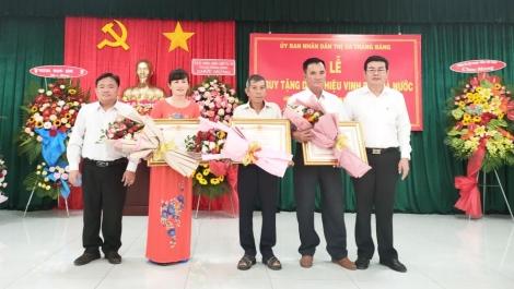 """Thị xã Trảng Bàng tổ chức truy tặng danh hiệu """"Bà mẹ Việt Nam anh hùng"""" cho 3 Mẹ trên địa bàn"""