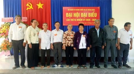 Thị xã Trảng Bàng tổ chức Đại hội đại biểu Hội Người tù kháng chiến lần thứ IV, nhiệm kỳ 2020 – 2025
