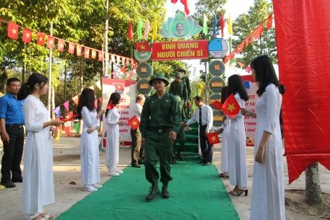 Năm 2021: Tây Ninh có 1.824 công dân nhập ngũ