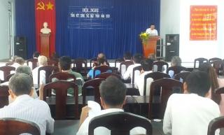 UB.MTTQ Việt Nam xã Phước Vinh: Tổng kết công tác mặt trận năm 2020