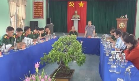 Kiểm tra công tác tuyển chọn, gọi công dân nhập ngũ năm 2021 tại Tân Biên
