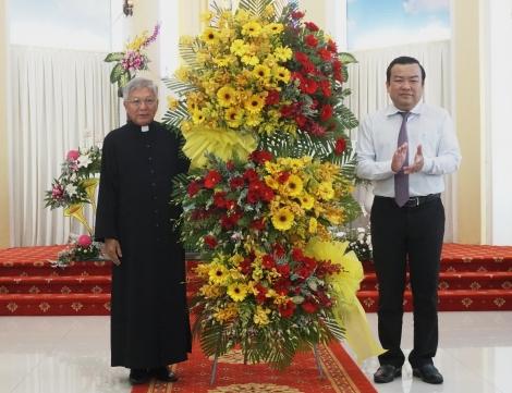 Chúc mừng Giáng sinh tại  Giáo xứ Tây Ninh
