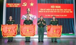 Bộ CHQS tỉnh nhận cờ thi đua xuất sắc của Bộ Quốc phòng