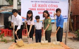Xây nhà Khăn Quàng đỏ cho học sinh khó khăn xã Suối Ngô