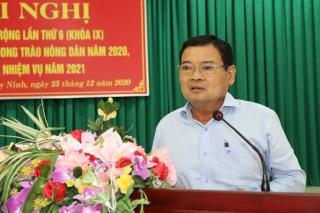 Hội Nông dân tỉnh: Hội nghị Ban chấp hành mở rộng lần thứ 6 (khóa IX) và tổng kết công tác Hội, phong trào nông dân năm 2020