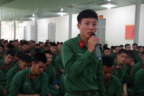 Sư đoàn 5 đối thoại với hạ sĩ quan, chiến sĩ xuất ngũ năm 2021
