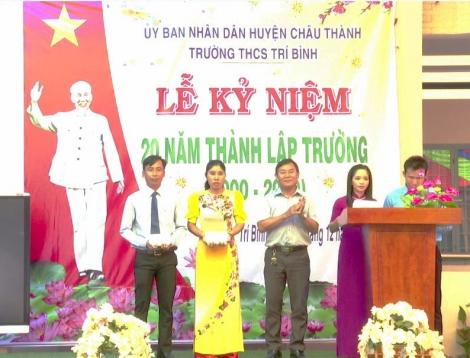Kỷ niệm 20 năm ngày thành lập Trường THCS Trí Bình