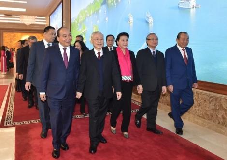 Tổng Bí thư, Chủ tịch nước dự hội nghị Chính phủ với các địa phương