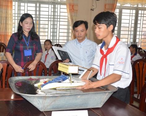 Tân Châu: Tổ chức Hội thi khoa học kỹ thuật dành cho học sinh THCS, năm học 2020-2021