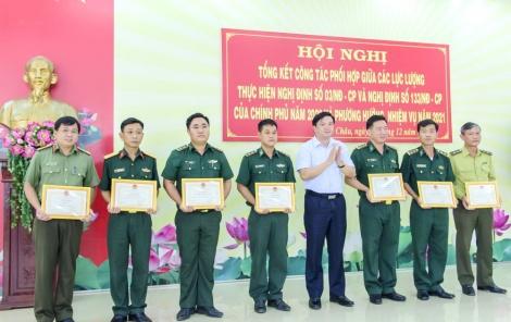 Tân Châu: Tổng kết công tác phối hợp giữa các lực lượng năm 2020