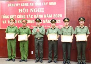 Đảng bộ Công an Tây Ninh tổng kết công tác Đảng năm 2020