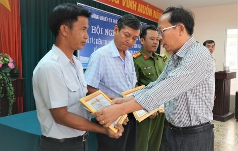 Tổng kết công tác kiểm tra việc chấp hành quy định về khai thác thủy sản trong hồ Dầu Tiếng