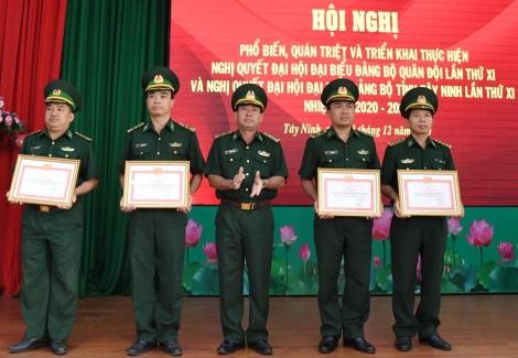 Biên phòng Tây Ninh: Hội nghị triển khai Nghị quyết Đại hội Đảng cho 150 cán bộ, đảng viên