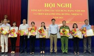 Tân Biên: Tổng kết công tác xây dựng Đảng năm 2020