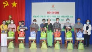 Hội Nạn nhân chất độc da thị xã Hòa Thành tổng kết công tác Hội năm 2020.
