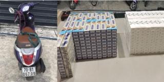 Công an Tân Châu: Thu giữ hơn 4.000 gói thuốc lá lậu