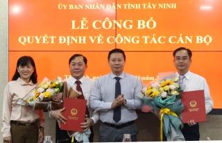Ông Trương Văn Hùng làm Chánh Văn phòng UBND tỉnh