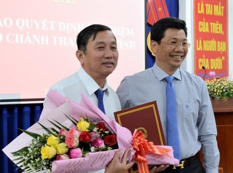 Ông Trương Văn Dễ được bổ nhiệm giữ chức vụ Phó Chánh Thanh tra tỉnh