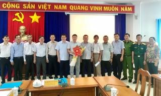Ông Nguyễn Văn Lam được điều động, bổ nhiệm làm Trưởng Ban Tuyên giáo Thị ủy Trảng Bàng