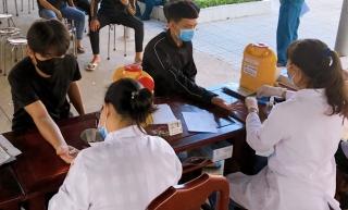 TP. Tây Ninh: Giám sát HIV, ma túy đối với công dân trúng tuyển nghĩa vụ Quân sự  năm 2021