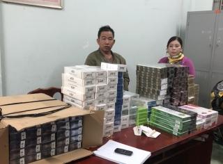 Bắt giữ gần 2.000 gói thuốc lá nhập lậu