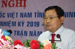 Ủy ban MTTQ Việt Nam tỉnh nhận Cờ thi đua xuất sắc toàn diện năm 2020