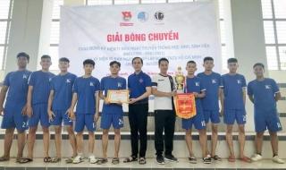 Hòa Thành: Tổ chức Giải Bóng chuyền Kỷ niệm 90 năm Ngày thành lập Đoàn TNCS Hồ Chí Minh