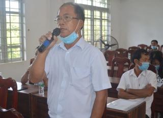 Đại biểu HĐND tỉnh, huyện tiếp xúc cử tri phường Long Thành Trung