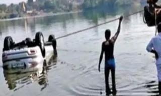 Ôtô rơi xuống sông vì đi theo Google Maps, tài xế tử vong